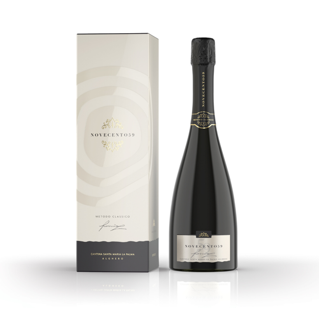Novecento59 Alghero Chardonnay D.O.C Metodo Classico dosaggio zero