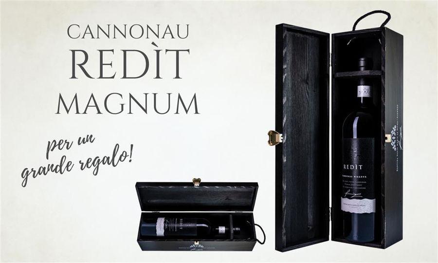 Cannonau Riserva Redìt in edizione Magnum: un grande vino per un grande regalo!