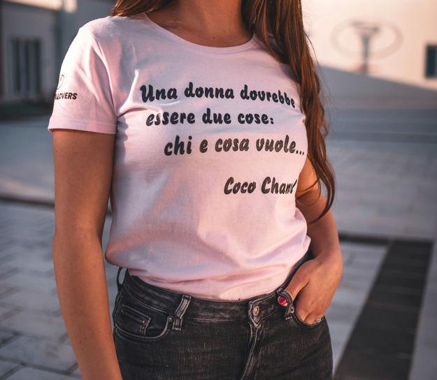 Immagine di T-Shirt La Vie en Rosé
