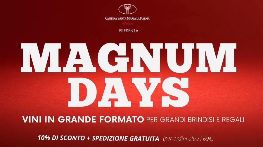 Magnum Days: sconti sui vini MAGNUM! Grandi formati per grandi brindisi
